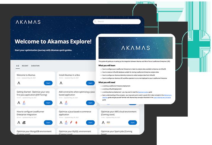Akamas free trial explore