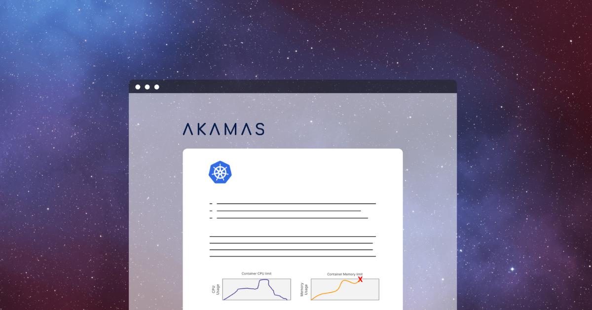 Akamas Kubernetes Optimization